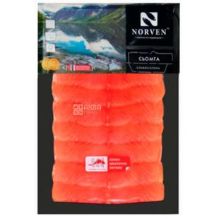 Norven, lightly salted salmon, sliced, 230 g