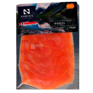 Norven, light-salted Trout, sliced, 230 g