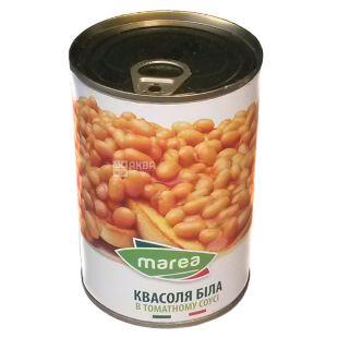 Marea, Фасоль белая в томатном соусе, 400 г
