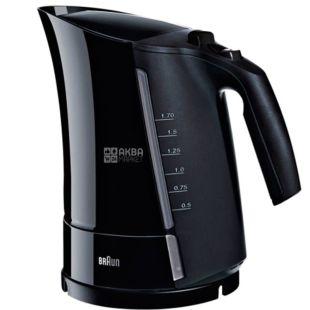 Braun WK300 Onyx, Чайник электрический, пластик, 1,7 л