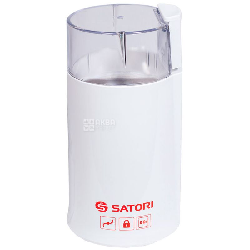 Satori SG-1801, Rotary coffee grinder, plastic, up to 50 g