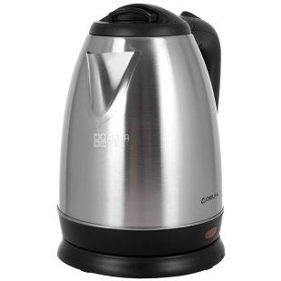 Delfa DK2000, Чайник электрический, пластик, металл, 1,8 л