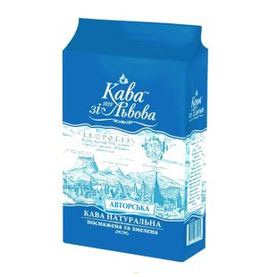 Coffee from Lviv, Coffee Authorized, ground, 225 g