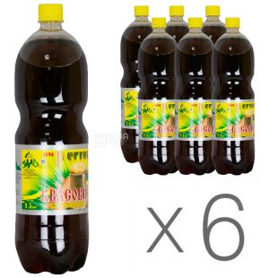 Regina, Kvass carbonated drink, 1.5 l, pack of 6 pcs.