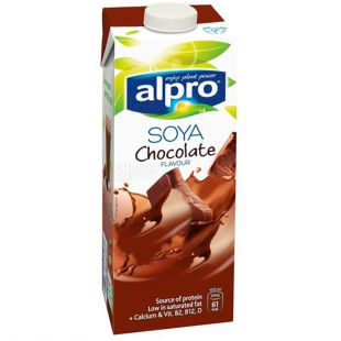 Alpro Soya Chocolate 1l Soymilk with chocolate