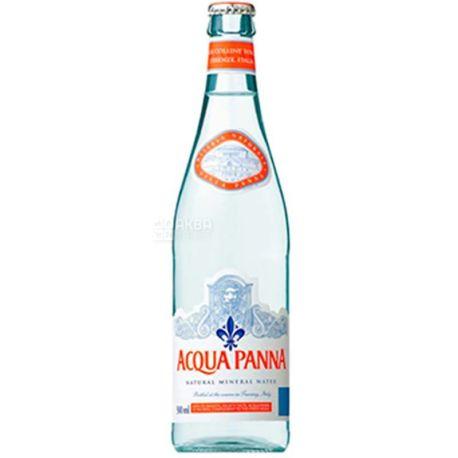 Acqua Panna, 0,5 л, Аква Панна, Вода минеральная негазированная, стекло
