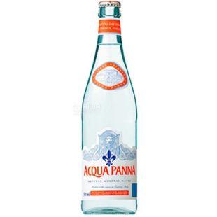 Acqua Panna, Вода негазированная, 0,5 л, стекло