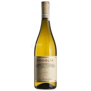 Broglia, Gavi La Meirana, Вино белое сухое, 0,75 л