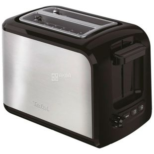 Tefal, Toaster Express TT410D38, black and gray, 850 W