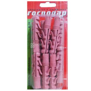 Dowel, Spacing, 3012, 12х60 mm, 15 pieces, TM Gospodar