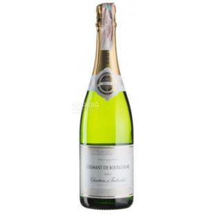 Chartron et Trebuchet, White sparkling wine Brut, Cremant de Bourgogne, 750 ml