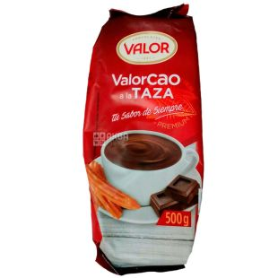 Valor, Cao a la Taza, 500 г, Валор, Какао-порошок, без цукру