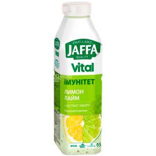 Jaffa, Vital Immunity, 0,5 л, Джаффа, Напиток соковый, Лимон-Лайм с экстрактом имбиря, ПЭТ