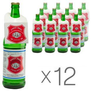 Hunyadi Janos, Curative Mineral Water, 0.7 L, pack of 12 pcs., glass