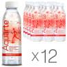 Aquarte Energy, 0,5 л, Упаковка 12 шт., Акварте Энерджи, Вода негазированная на растительных экстрактах, ПЭТ
