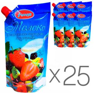 Ichnya, whole condensed milk with sugar, 8.5%, 320 g, pack of 25 pcs.