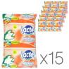 Lactel, Молоко ультрапастеризоване 3,2% з вітаміном D, 900 мл, упаковка 15 шт.