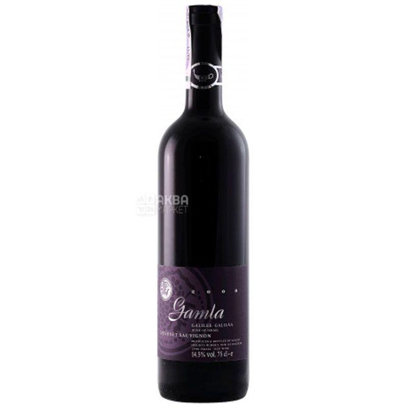 Golan Heights Winery, Вино красное сухое, Cabernet Sauvignon Gamla, 0,75 л