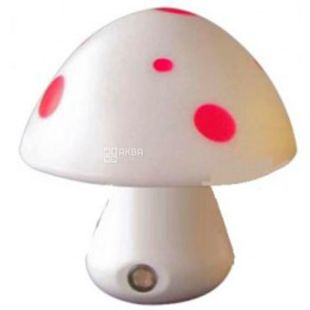 Lemanso NL16, Night Light, Mushroom, 3 LED 6500K, with sensor, white