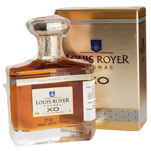 Louis Royer XO, Коньяк, 50 мл, подарочная упаковка