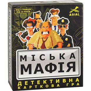 Arial, Настольная игра, Городская мафия, для детей с 10 лет
