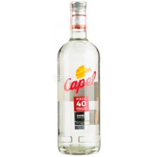 Capel Pisco Transparente, Писко, водка виноградная, 0,75 л