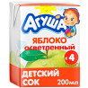 Agusha, 200 ml, Children's juice, Apple