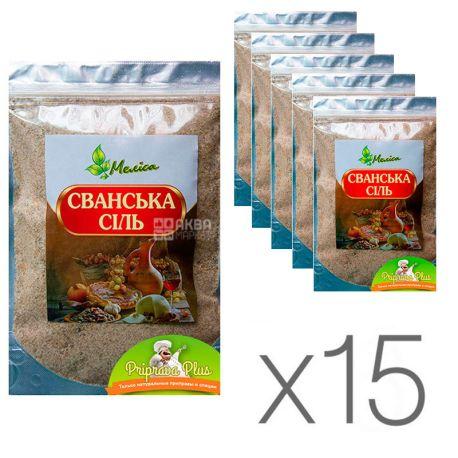 Мелисса, Сванская соль, 200 г, упаковка 15 шт.