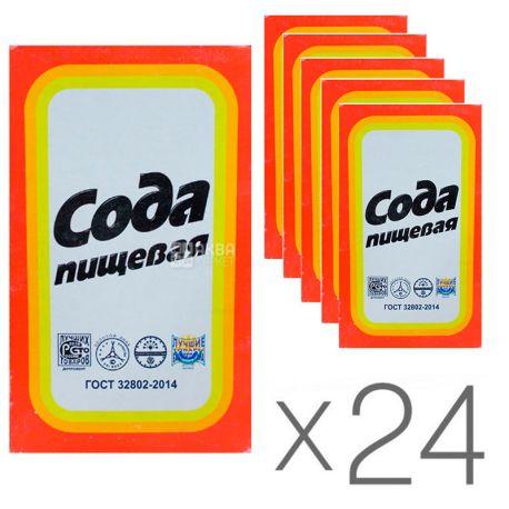 УТС, Сода пищевая, 500 г, упаковка 24 шт.