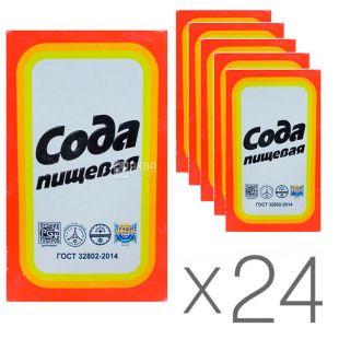 УТС, Сода харчова, 500 г, упаковка 24 шт.