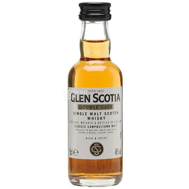 Glen Scotia, Double Cask, Виски, 0,05 л