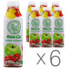 Наш Сок, Сок клубнично-яблочный, 0,5 л, упаковка 6 шт.