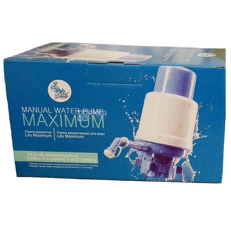 Lilu Maximum Plus, Помпа для воды с краном