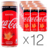 Coca Cola Zero Vanilla, Carbonated drink, 0.33 l, pack of 12 pcs.