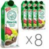 Наш Сік, Виноград-яблоко, Упаковка 8 шт. по 1,43 л, Нектар натуральный