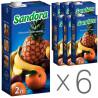 Sandora, Мультивитамин, Упаковка 6 шт. по 2 л, Сандора, Нектар натуральный