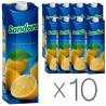 Sandora, Лимонный, Упаковка 10 шт. по 0,95 л, Сандора, Нектар натуральный