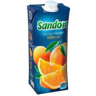 Sandora, Апельсиновый, 0,5 л, Сандора, Сок натуральный