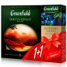 Greenfield, Golden Ceylon,100 пак x 2 г  Чай Гринфилд ,черный, + Blueberry Nights, 25 пак. x 2 г , Чай Гринфилд ,черный