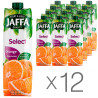 Jaffa, Select, Апельсиновый, Упаковка 12 шт. по 0,95 л, Джаффа, Нектар натуральный