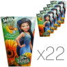 Jaffa, Disney Fairies, Мультивитамин, Упаковка 22 шт. по 0,125 л, Джаффа, Дисней Фейрис, Нектар натуральный, детям от 3-х лет