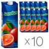 Sandora, Сицилийский красный апельсин, 0,95 л, Упаковка 10 шт., Сандора, Cоковый напиток