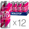 Non Stop Urban, упаковка 12 шт. по 0,5 л, Напиток энергетический Нон Стоп Урбан, Арбуз