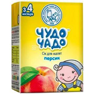 Чудо-Чадо, Персик, 200 мл, Сік для дітей, з 4 місяців