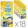 Чудо-Чадо, Слива-яблоко, 200 мл, Сок для детей с мякотью, с 4 месяцев, Упаковка 18 шт.