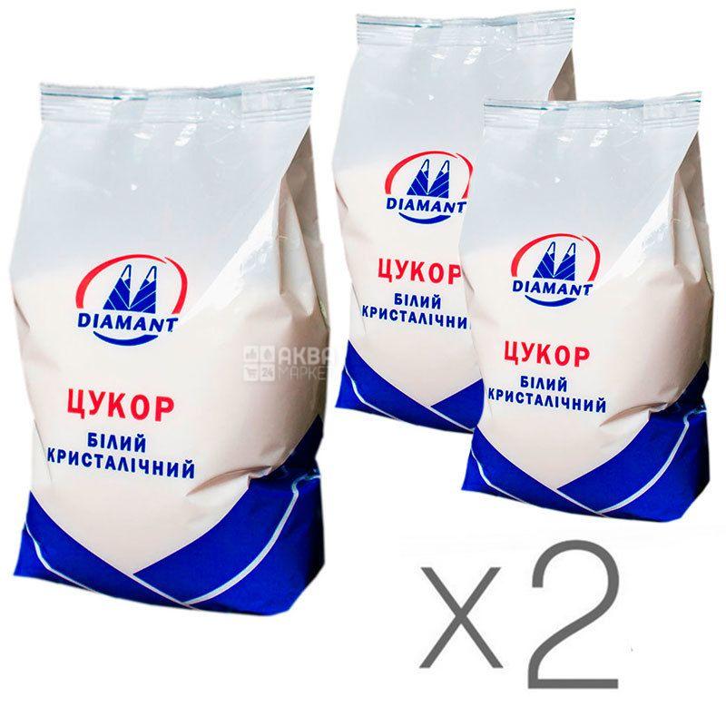Diamant, Сахар белый песок, 5 кг, Упаковка 2 шт.