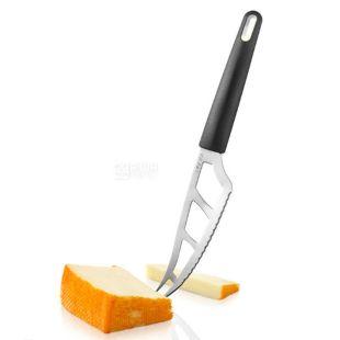 Boska Holland, Ніж для напівм'якого і твердого сиру, чорна рукоятка, 29 см