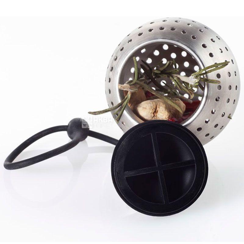 Ad Hoc, Емкость для специй Spice Bomb, фильтр, 7 см