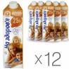 На здоров'я, Молоко ультрапастеризоване, 2,5%, 1 л, упаковка 12 шт.