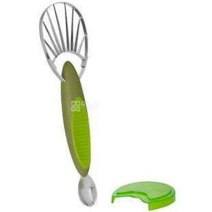 Trudeau, Нож для авокадо 2в1, зеленый, 9 см